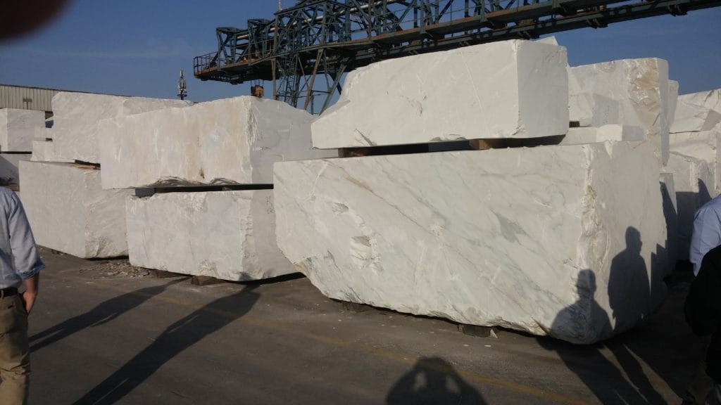 Blocks of Marble