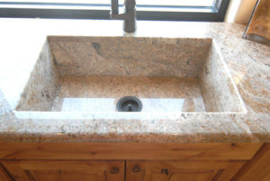 Granite seemless sink