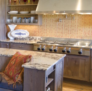 Custom island and countertop - Slabworks of Montana